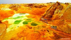 【エチオピア】安心してください、ここは地球です!!異世界感ハンパないダロール火山