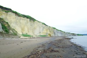 【旧記事】ここマジで北海道!?滝瀬海岸「シラフラ」は白き断崖の異世界海岸